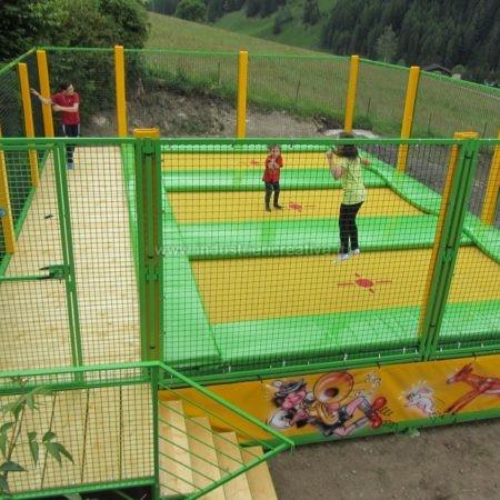 Modular trampolines supply - Vendita di trampolini elastici modulari