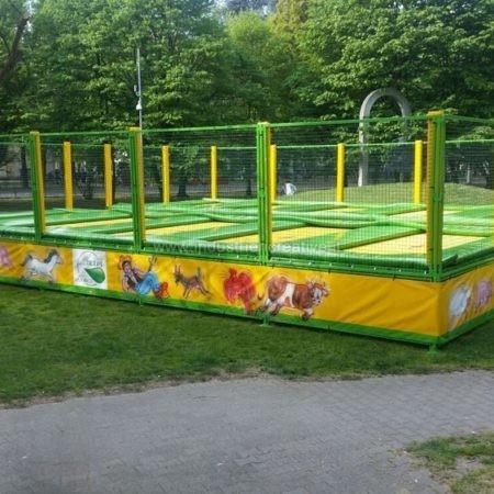 Produzione di trampolini elastici professionali - Trampolines en batterie vente