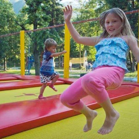 Trampolino professionale per bambini e adulti