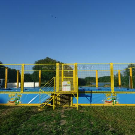 Trampolines pour parc de loisirs