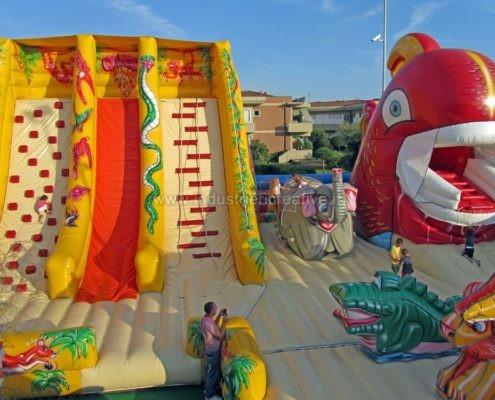 Gioco gonfiabile Giungla - jeux gonflable Jungle