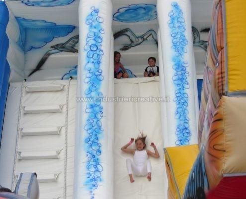 Multi-gioco gonfiabile Mare - vendita di grande playground gonfiabile per bambini