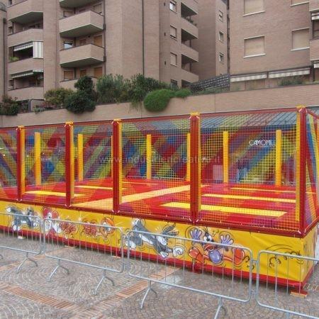 Mini trampolini elastici - Bologna