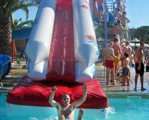 Aufblasbare Wasserrutschen verkauf