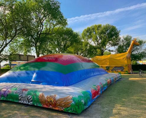 Inflatable cushion Air Mountain