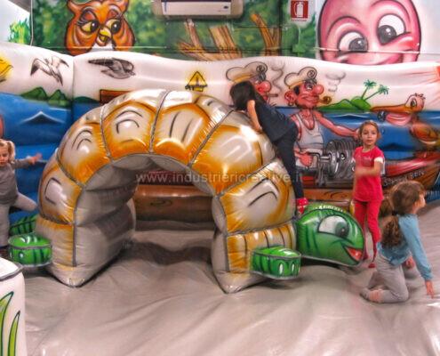 Tartaruga gonfiabile grande