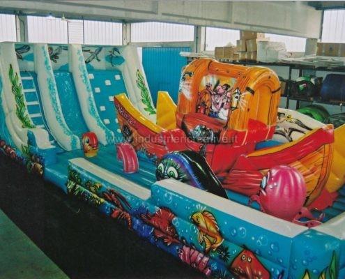 Vendita di gioco gonfiabile per bambini Barca Mobile - jeu gonflable Bateau Mobile