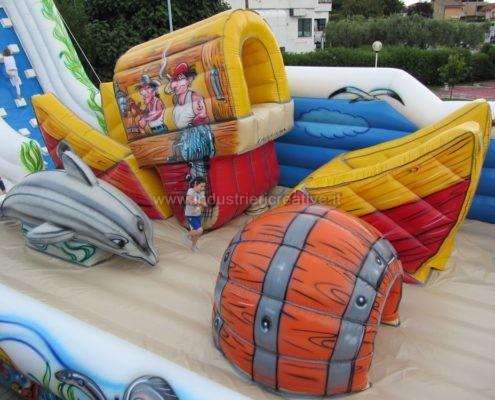 Vendita di gioco gonfiabile Barca Mobile - - produzione giochi gonfiabili professionali