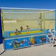 Trampolino per la spiaggia - vendita