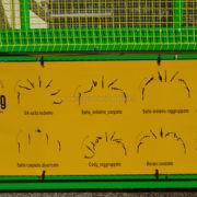 Esercizi trampolino elastico