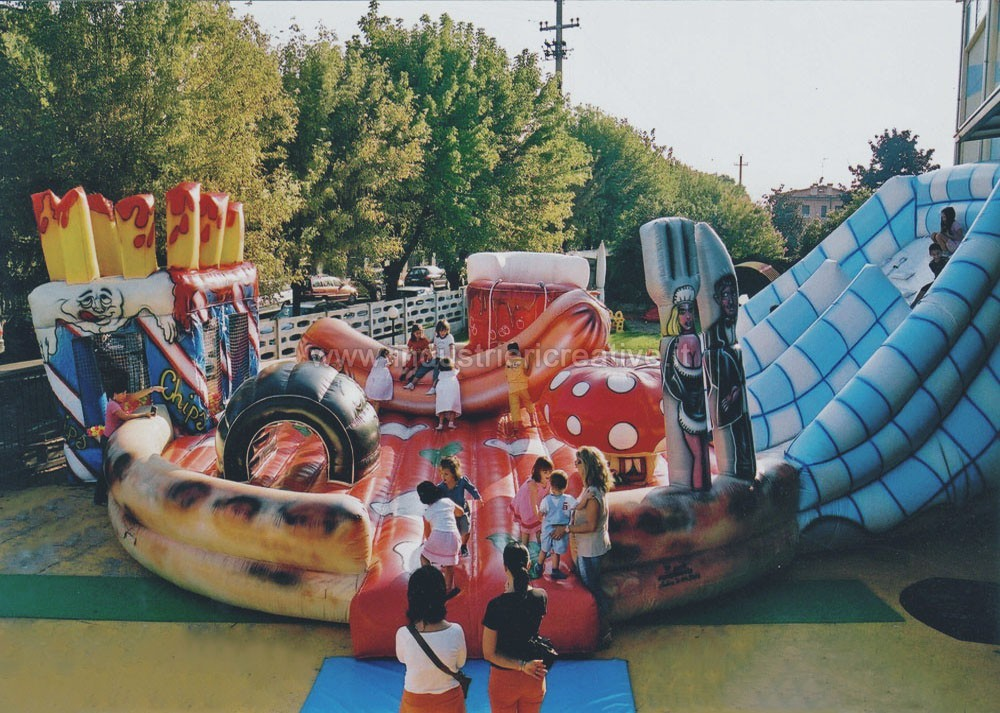 Inflatable Pizza for kids - inflatable games manufacturers