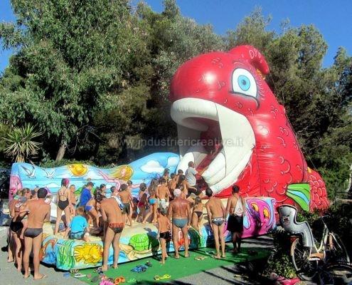 Inflatable Goldfish - Vendita di gonfiabili animati - gioco gonfiabile pesce - pesce gonfiabile