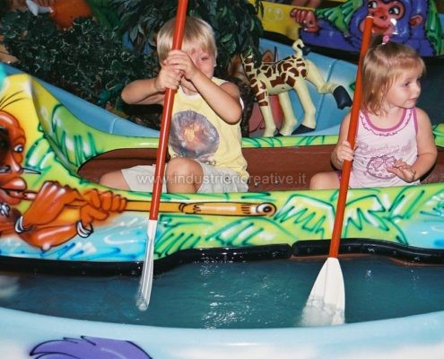 Vendita giostra acquatica Jungle River per parco giochi