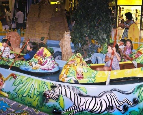 Water attraction supply - Giostra acquatica Jungle River per parco giochi e luna park - produzione e vendita - fabrication de manèges pour parcs d'attractions