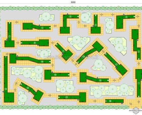 Piste minigolf prefabbricate - produzione e vendita di minigolf