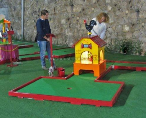 Produzione e vendita miniature golf - fabrication de minigolf