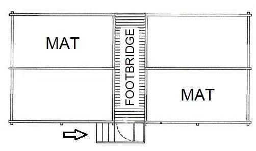 4-places trampoline standard model