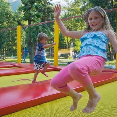 Professional trampolines for children and adults