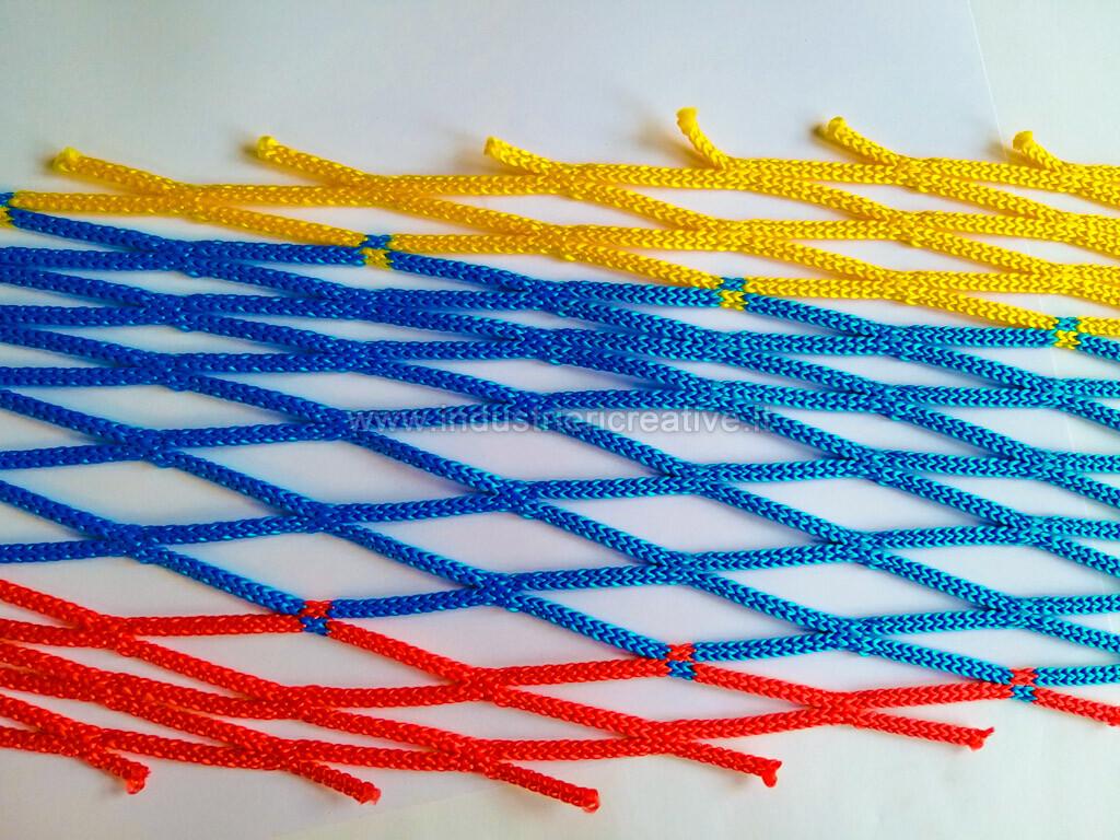Rete in nylon per trampolini elastici