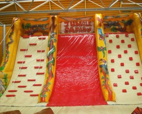 Scivolo gonfiabile Giungla - grandi scivoli gonfiabili per parchi giochi, lunapark, ludoteche, aree bambini