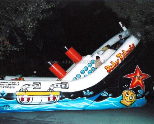 Titanic gioco gonfiabile