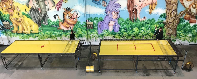 Produzione e vendita tappeti da salto per trampolino elastico con misure personalizzate