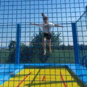 Trampoline Sport Performance pour jardin