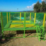 2 trampolines haute performance pour sport