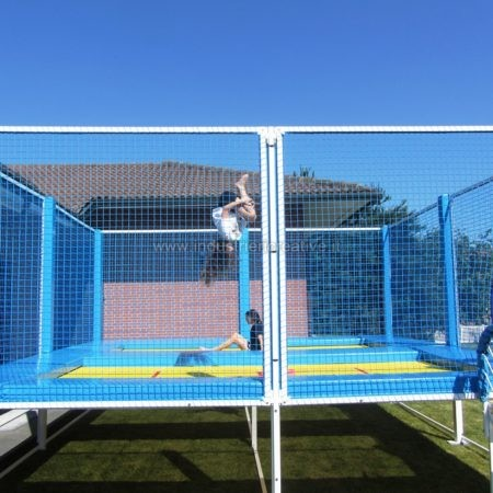 Sport performance trampoline