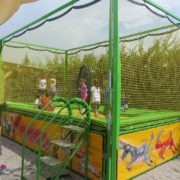 Professional trampoline for playgrounds manufacturing and supply