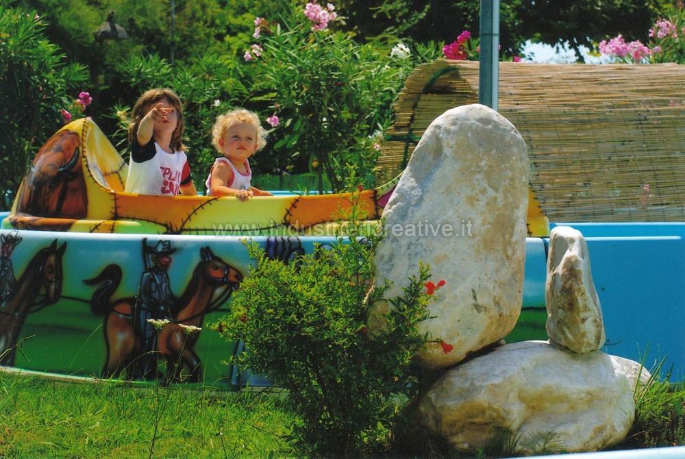 Produzione e vendita di attrazione per bambini Venture River per luna park e parchi gioco - vendita di giostre per bambini