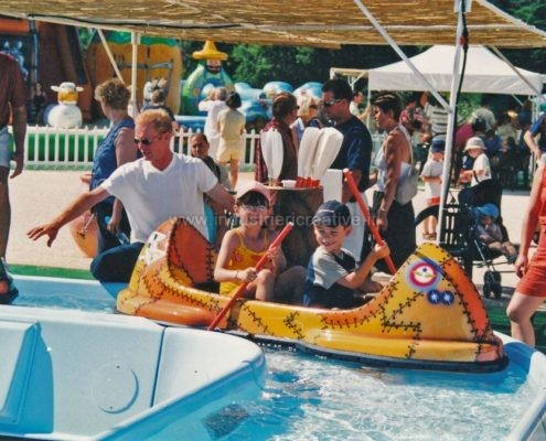 Water attraction supply -