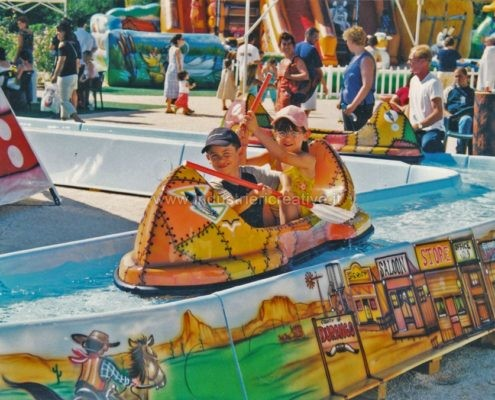 construction and supply of water attractions for amusement park and plauground