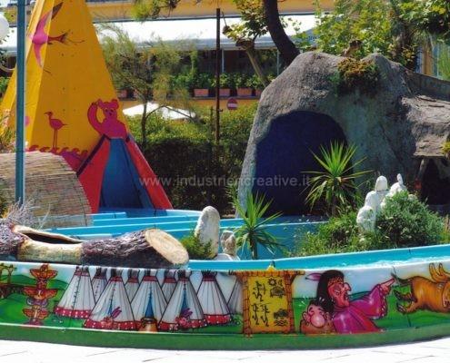 vendita di attrazione per bambini - Water attraction supply - fabrication de manèges pour parcs d'attractions