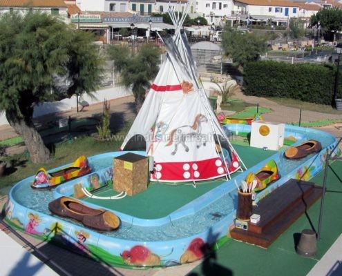 vendita di attrazione per bambini - Produzione e vendita di flume ride - fabrication de manèges pour parcs d'attractions
