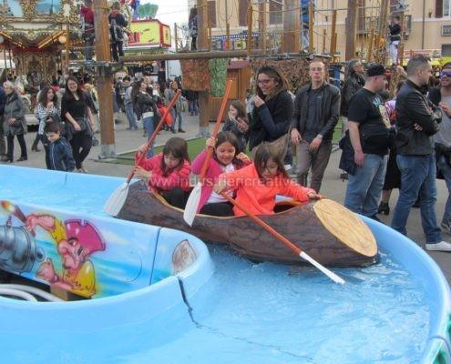 Water attraction supply - Tronco per flume ride Pirates River - fabrication de equipement pour parcs d'attractions