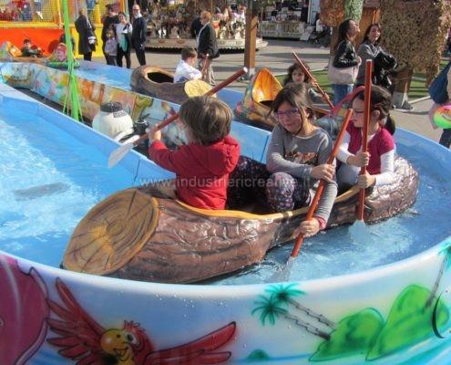 Water attraction supply - Produzione e vendita attrazione acquatica Pirates River - fabrication de equipement pour parcs d'attractions