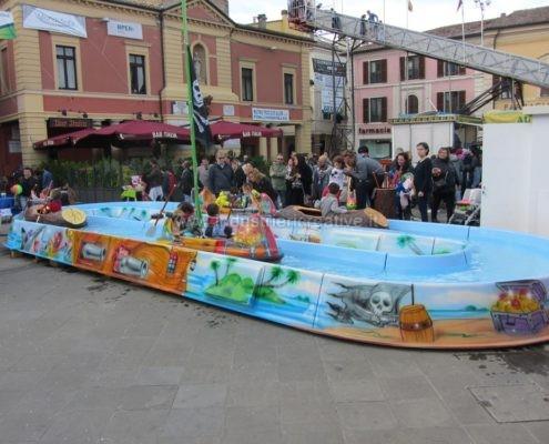 Water attraction supply - Pirates River - produzione e vendita giostra per luna park - fabrication de equipement pour parcs d'attractions