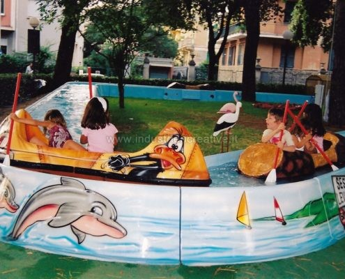 Produzione e vendita attrazione acquatica per luna park e parchi gioco - tema mare