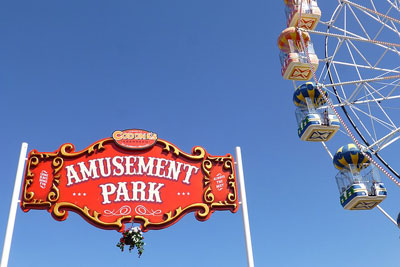 Fairground equipment manufacturer. Supply of play equipment for fairground.